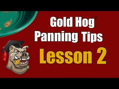 Gold Panning - The Full Training Video - Why Gold Floats - Surface