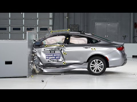 Chrysler 200, All-New Fiat 500X Reprise IIHS Top Safety Pick+ Rating for 2016 - FCA Space