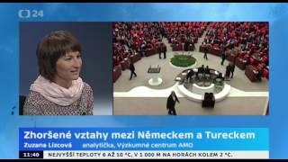 Zhoršené vztahy mezi Německem a Tureckem