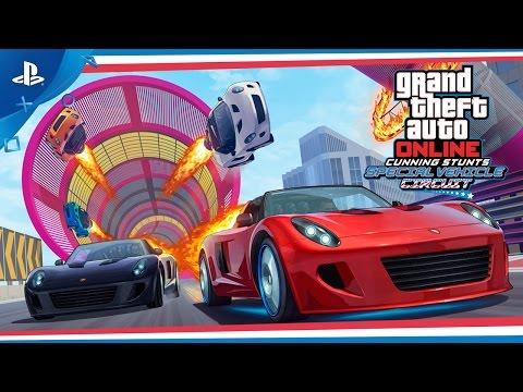 GTA Online - Cunning Stunts: Special Vehicle Circuit Trailer … видео