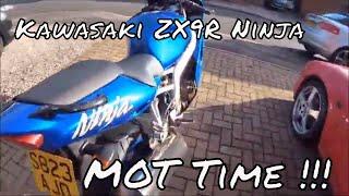 Kawasaki ZX9R Ninja MOT time