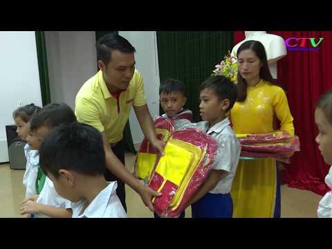 Tặng  150 suất quà cho trẻ em có hoàn cảnh khó khăn