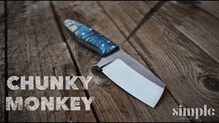 Video Making a Knife - The Chunky Monkey MP3, 3GP, MP4, WEBM, AVI, FLV Januari 2019