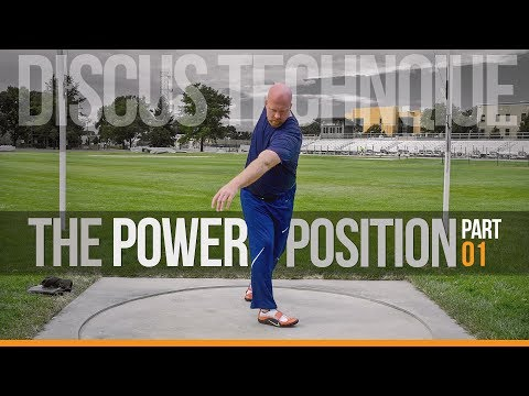 Discus Throw Technique | The Power Position pt.1