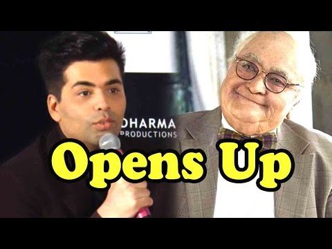 Karan Johar Opens Up On Rishi Kapoor's Older Look