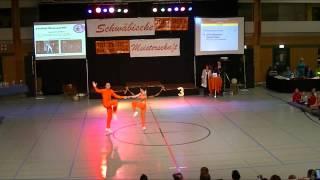 Julia Geishauser & Patrick Pfaller - Schwäbische Meisterschaft 2013