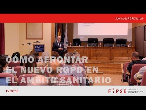 Jornada Cómo afrontar la entrada en vigor del nuevo RGPD en el ámbito sanitario - Vídeo resumen