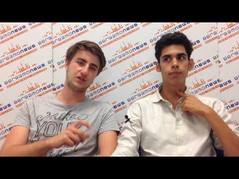 """Omar e Riccardo per Bgnews: """"Vi racconteremo la Cina"""""""