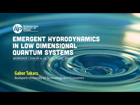Entanglement growth and quasi-particle spectrum in non-equilibrium quantum systems - Gabor Takacs