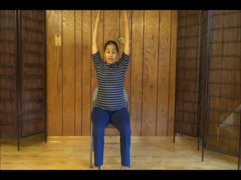 Chair Yoga Basics – 70 minute class with Vidya Nahar, ERYT