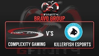 G2: Complexity Gaming vs Killer Fish - Group B Match 1