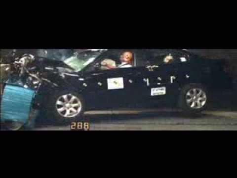 Kia Magentis Краш-тест Kia Magentis от EuroNCAP. Фронтальный удар