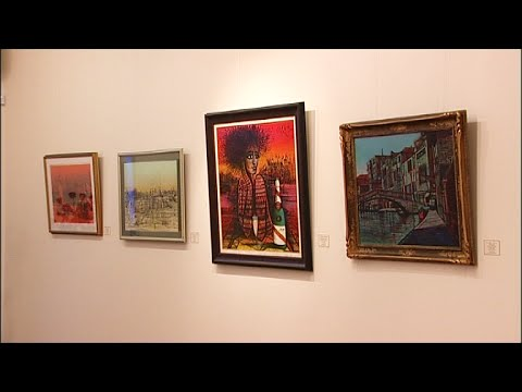 Personal Exhibition of Carzou's artworks at Arame Art Gallery