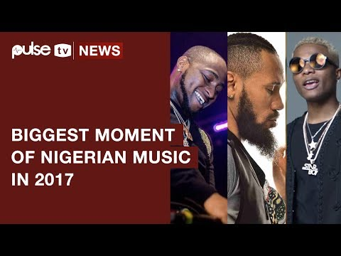 Wizkid and Davido Beef among the Biggest Moments Of Nigerian Music In 2017 | Pulse TV News