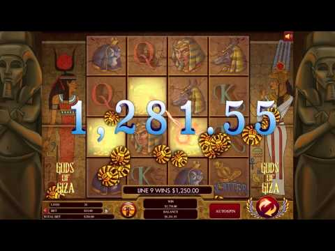 Gods Of Giza Slot -  Genesis Gaming Promo