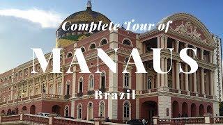Manaus Brazil  City pictures : Complete Tour in Manaus, Brazil (Legendas em português).