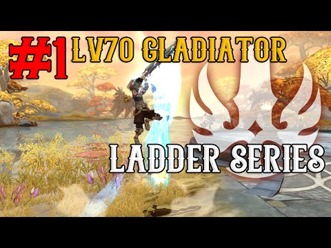 Lv70 Gladiator 1v1 Ladder Series - #1 Road to 2000+ Ratings ~!  - Dragon Nest