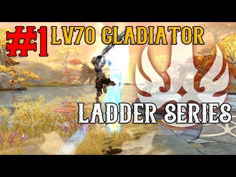 Lv70 Gladiator 1v1 Ladder Series - #1 Road to 2000+ Ratings ~!  - Dragon Nest