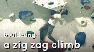 Zig Zag and Overhang Bouldering Problems by  rockentry