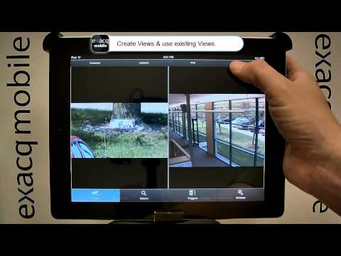 Video of Exacq Mobile 3