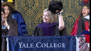 Video Hillary Rodham Clinton, 2018 Yale Class Day Speaker MP3, 3GP, MP4, WEBM, AVI, FLV September 2018