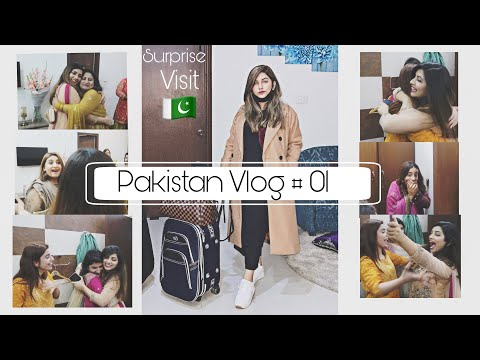 SURPRISING MY FAMILY AFTER 2 YEARS    EMOTIONAL    PAKISTAN VLOG 🇵🇰🥺