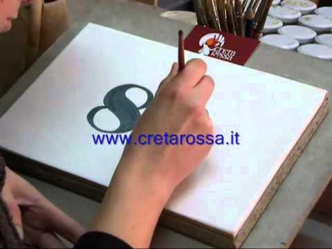 Mattonella artigianale in ceramica