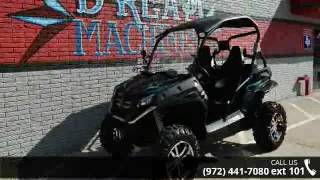 8. 2013 CFMoto ZForce 600 EX *Only 60 Miles* Winch/Roof - Dr...