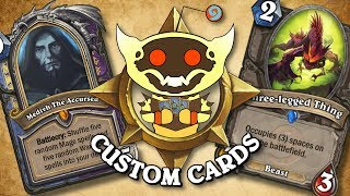 TOP CUSTOM CARDS OF THE WEEK #23 | Card Review | Hearthstone