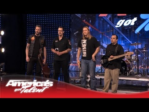 agt - Howard Stern is looking for a rock band, and these guys may just have that moment for him with their cover of Lynyrd Skynyrd's