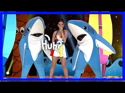 Katy Perry Closes Out The North American Leg Of Her Tour With A Rumble With Left Shark!