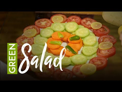 (Green Salad | Easy To Prepare | Yummy Nepali Kitchen - Duration: 2 minutes, 38 seconds.)