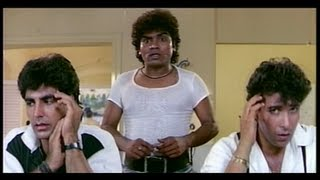 Johnny Lever comes to the Police Station to Meet Shakti Kapoor (Khiladi) full download video download mp3 download music download
