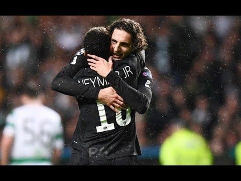 Neymar had eyes behind him, tearing the heel of Rabiot vs Real Madrid
