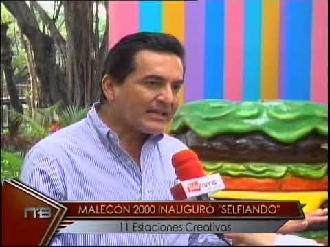 Malecón 2000 inauguró Selfiando 11 estaciones creativas
