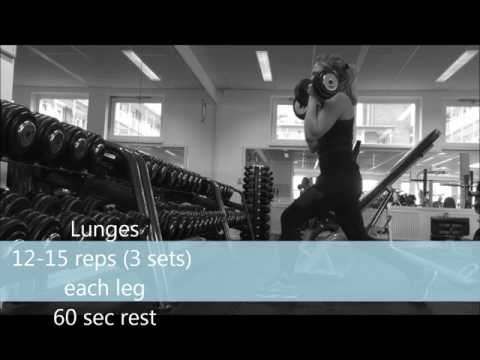 complete leg workout routine voor beginners
