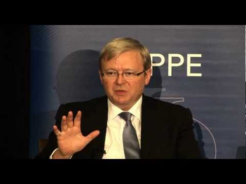 International Development - Kevin Rudd