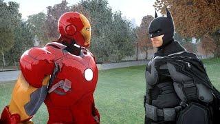 Video BATMAN VS IRON MAN - EPIC SUPERHEROES BATTLE MP3, 3GP, MP4, WEBM, AVI, FLV April 2017