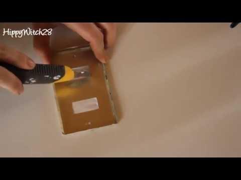 DIY: Decorazione PLACCA LUCE - Light Switch
