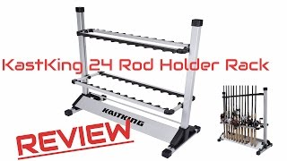 KastKing 24 Rod Holder Rack REVIEW