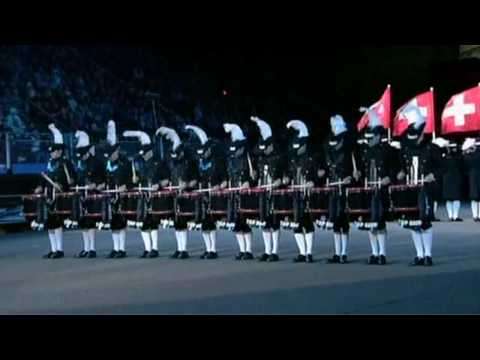 Drums - The outstanding Swiss Top Secret Drum Corps recorded at the Edinburgh Military Tattoo in August 2009. Check 2006: http://www.youtube.com/watch?v=o7k6VYGtm8g.