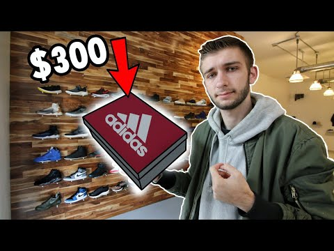 BUYING THE NEW ADIDAS BOOST SNEAKERS! *COLLAB SNEAKERS SITTING on SHELF*