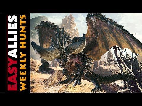 Weekly Hunts! Monster Hunter World (beta) - Nergigante pain and agony.