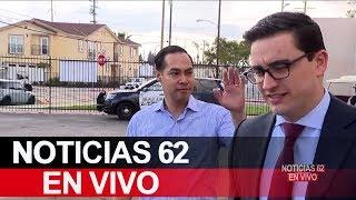 Julián Castro quiere ser un líder latino. – Noticias 62. - Thumbnail