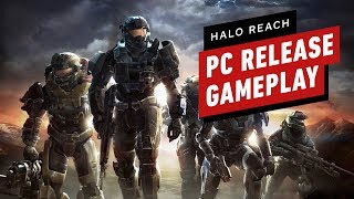 The First 18 Minutes of Halo Reach Gameplay on PC by IGN