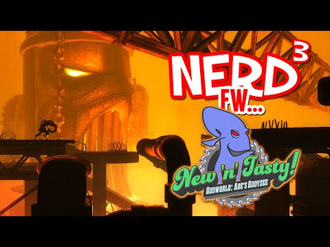 tasty - Hello. Hello. Follow me. Ok. *Everything explodes.* Tee Hee. Game Link: http://www.oddworld.com/oddworldgames/new-n-tasty/ End theme by the incredible Dan Bull: http://www.youtube.com/user/dougl...