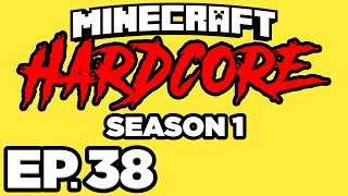 Minecraft: HARDCORE s1 Ep.38 - VILLAGER IN THE NETHER, PORTAL TUNNEL SYSTEM! (Gameplay / Let's Play)