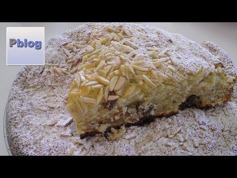video ricetta: bimby - torta di ricotta ed uvetta.