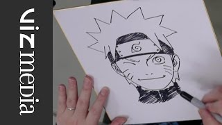 Jump Festa 2014 : Kishimoto croque Naruto