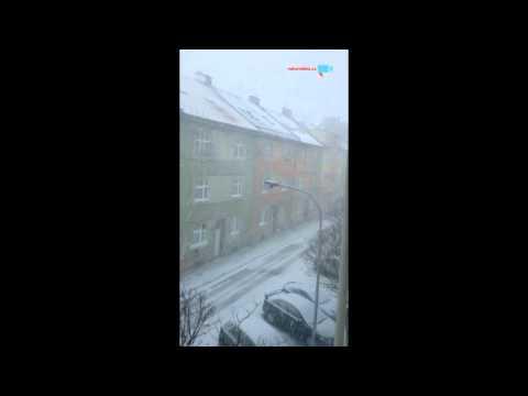 velká sněhová vánice v Brně 1
